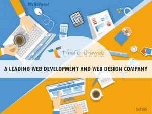 Leading web development company : Timefortheweb