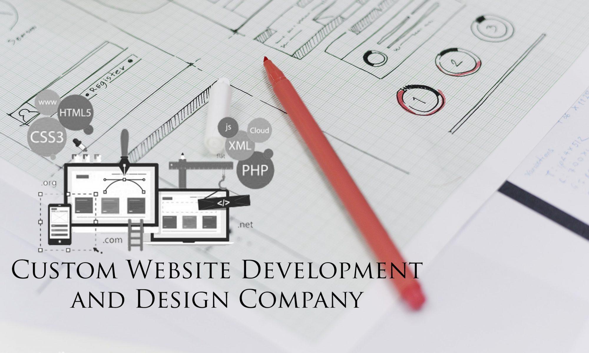 Custom Web Design and Development Company